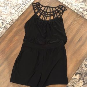 White House Black Market Romper!!